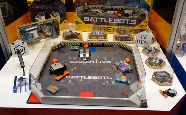 BattleBots Toy Playset from Hexbug