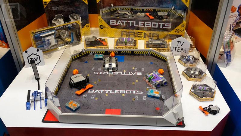 BattleBots Toy Playset from Hexbug